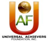 Universal Achievers Foundation Inc. Logo