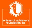 Universal Achievers Foundation Inc. Logo